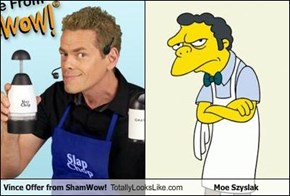 Vince Offer from ShamWow! Totally Looks Like Moe Szyslak