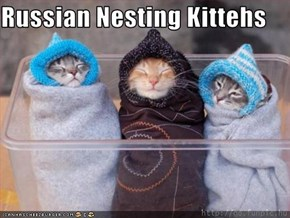 Russian Nesting Kittehs