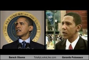 Barack Obama Totally Looks Like Gerardo Puisseaux