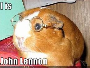 I is  John Lennon