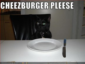 CHEEZBURGER PLEESE