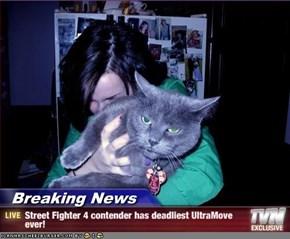 Breaking News - Street Fighter 4 contender has deadliest UltraMove ever!