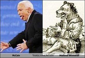 McCain Totally Looks Like Midieval Werewolf