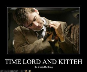 TIME LORD AND KITTEH