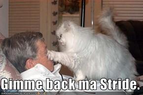 Gimme back ma Stride.