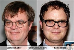 Garrison Keillor Totally Looks Like Rainn Wilson