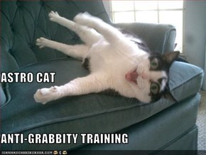 ASTRO CAT  ANTI-GRABBITY TRAINING