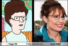 Peggy Hill Totally Looks Like Sarah Palin