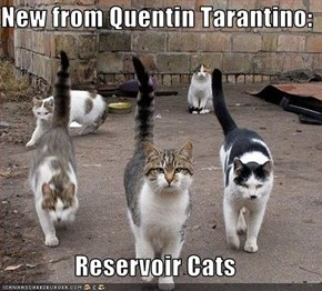 New from Quentin Tarantino:  Reservoir Cats
