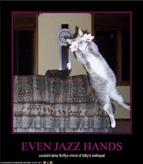 EVEN JAZZ HANDS