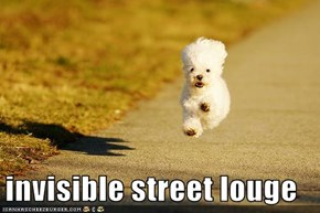 invisible street louge