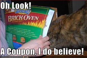 Oh Look!  A Coupon, I do believe!