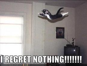 I REGRET NOTHING!!!!!!!