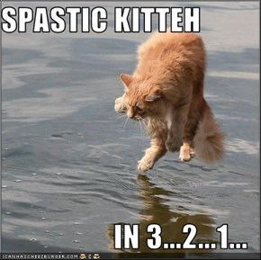 SPASTIC KITTEH  IN 3...2...1...
