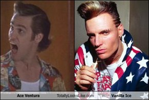Ace Ventura Totally Looks Like Vanilla Ice