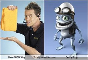 ShamWOW Guy Totally Looks Like Crazy Frog