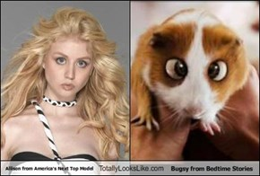 Allison from America's Next Top Model Totally Looks Like Bugsy from Bedtime Stories