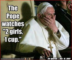 The Pope discovers teh Interwebs