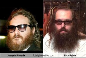 Joaquin Phoenix Totally Looks Like Rick Rubin