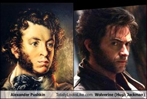 Alexander Pushkin Totally Looks Like Wolverine (Hugh Jackman)