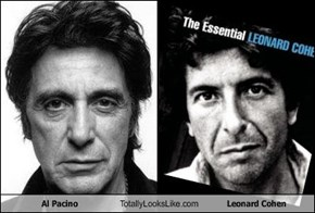 Al Pacino Totally Looks Like Leonard Cohen
