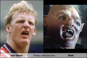 Iain Dowie Totally Looks Like Sloth