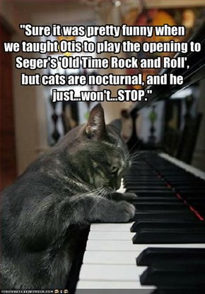 """Sure it was pretty funny when 