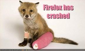 Firefox has crashed