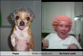 Puppy Totally Looks Like My friend Leslie