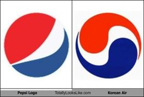 Pepsi Logo Totally Looks Like Korean Air