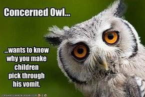Concerned Owl...