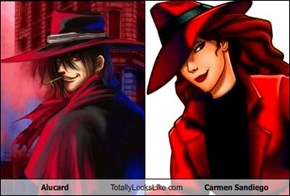 Alucard Totally Looks Like Carmen Sandiego