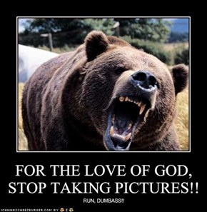FOR THE LOVE OF GOD, STOP TAKING PICTURES!!