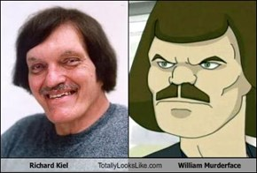 Richard Kiel Totally Looks Like William Murderface