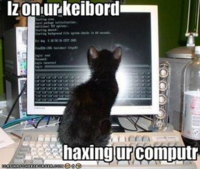 Iz on ur keibord