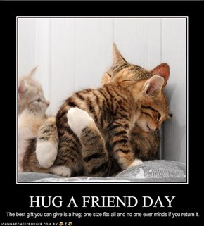 HUG A FRIEND DAY