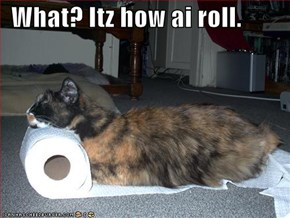 What? Itz how ai roll.