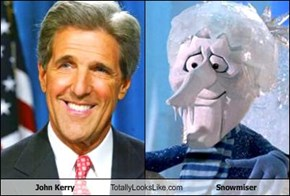 John Kerry Totally Looks Like Snowmiser