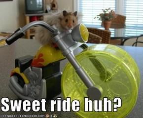 Sweet ride huh?