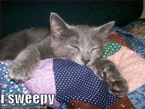 i sweepy