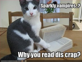 Sparkly vampires..?