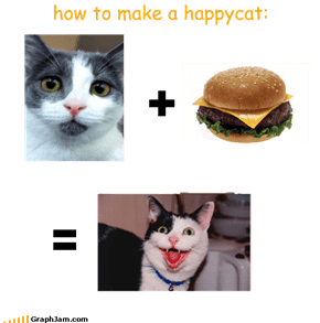 how to make a happycat: