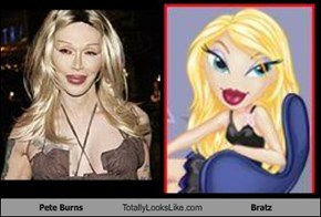 Pete Burns Totally Looks Like Bratz