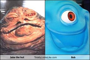 Jaba the hut Totally Looks Like Bob