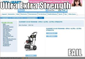 Ultra Extra Strength  FAIL