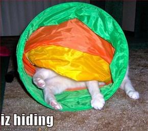 iz hiding