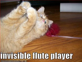 invisible flute player