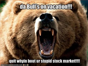 da Bull's on vacation!!!