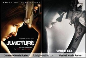 Juncture Movie Poster Totally Looks Like Wanted Movie Poster