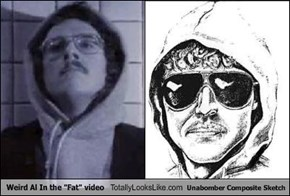 "Weird Al In the ""Fat"" video Totally Looks Like Unabomber Composite Sketch"